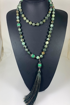 Nobrand Crystal And Glass Bead Necklace - Product List Image