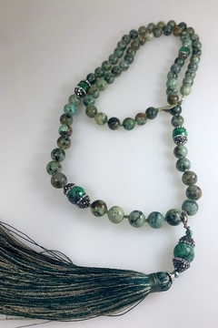 Nobrand Crystal And Glass Bead Necklace - Alternate List Image