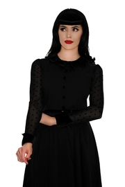 Retrolicious Nocturnal Swing Dress - Back cropped