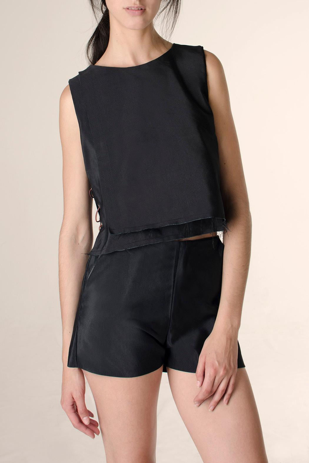NOD Hall High Waisted Shorts - Front Cropped Image