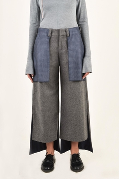NOD High Rise Oxford Pants - Alternate List Image
