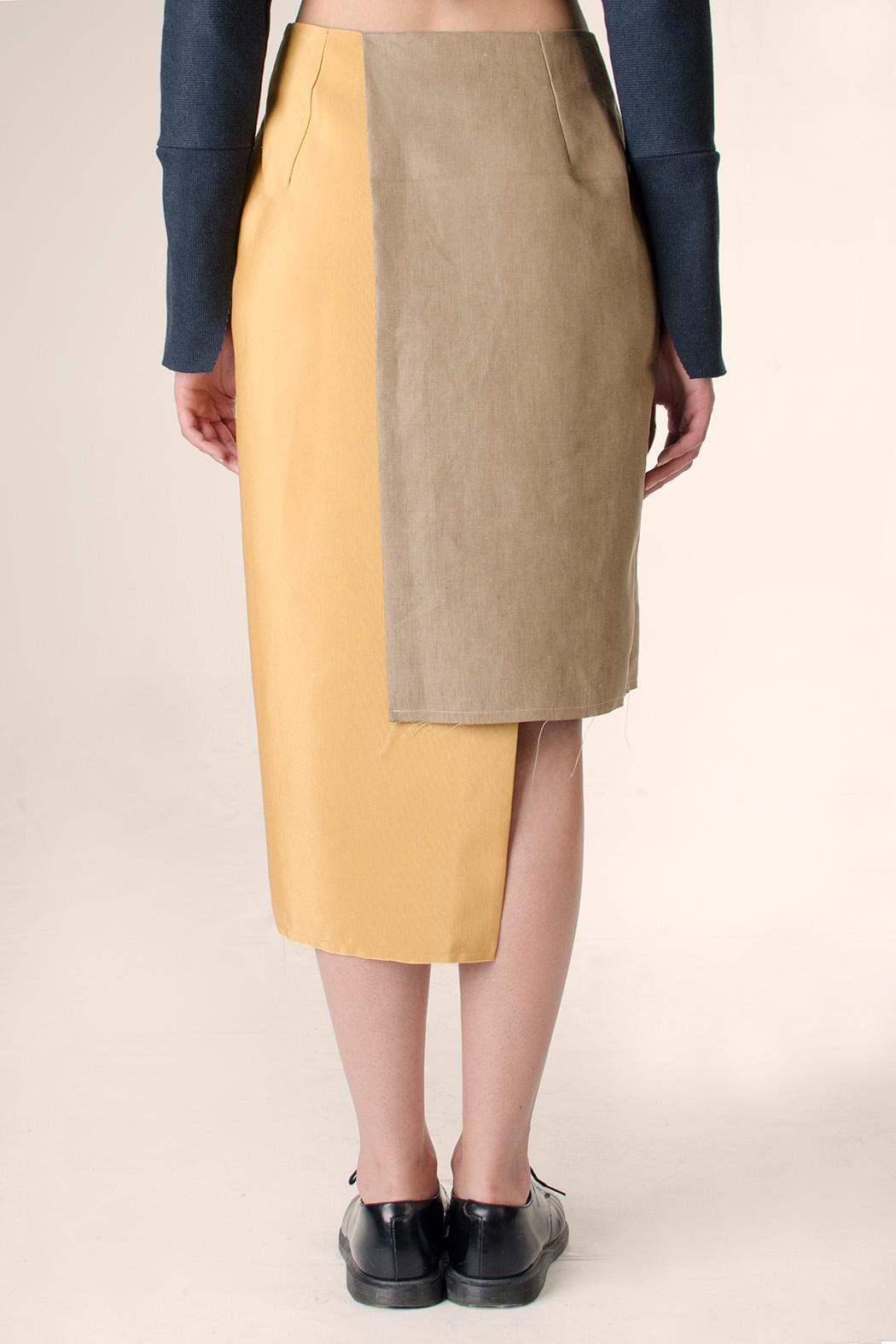 NOD Polonio Wrap Skirt - Side Cropped Image