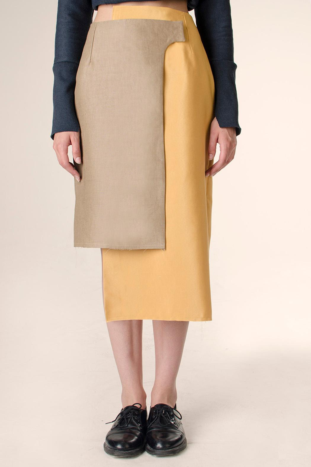 NOD Polonio Wrap Skirt - Front Cropped Image
