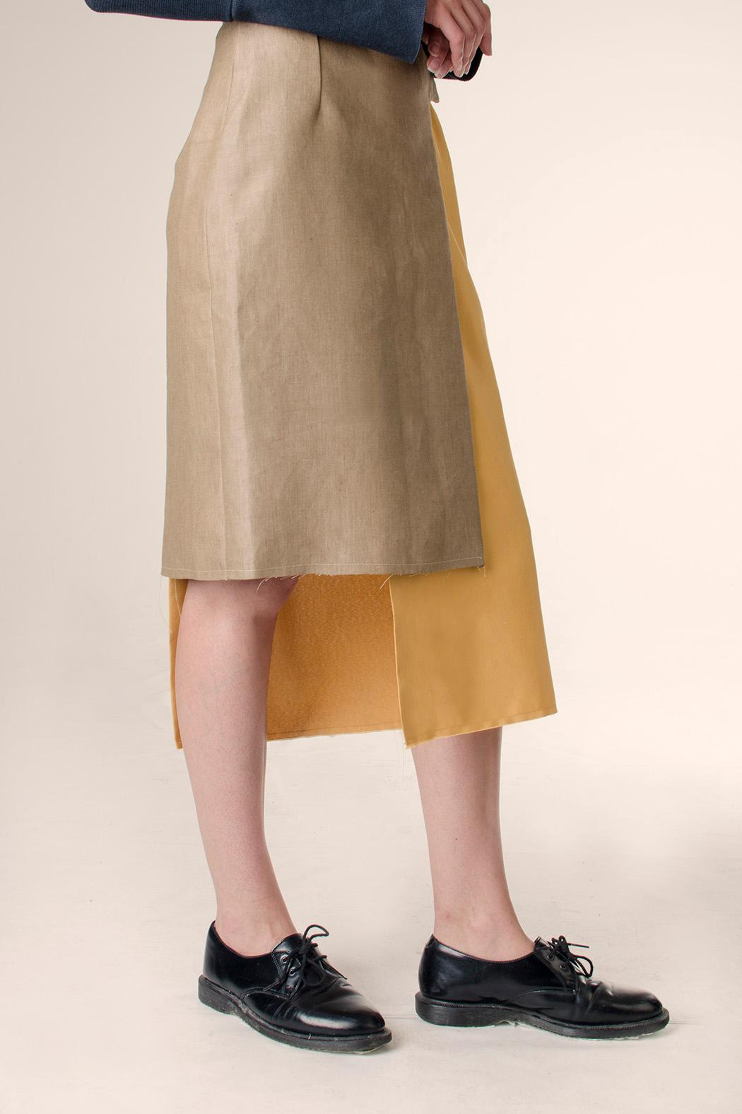NOD Polonio Wrap Skirt - Front Full Image