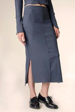 NOD Ribbed Midi Skirt - Product List Image