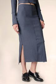 NOD Ribbed Midi Skirt - Product Mini Image