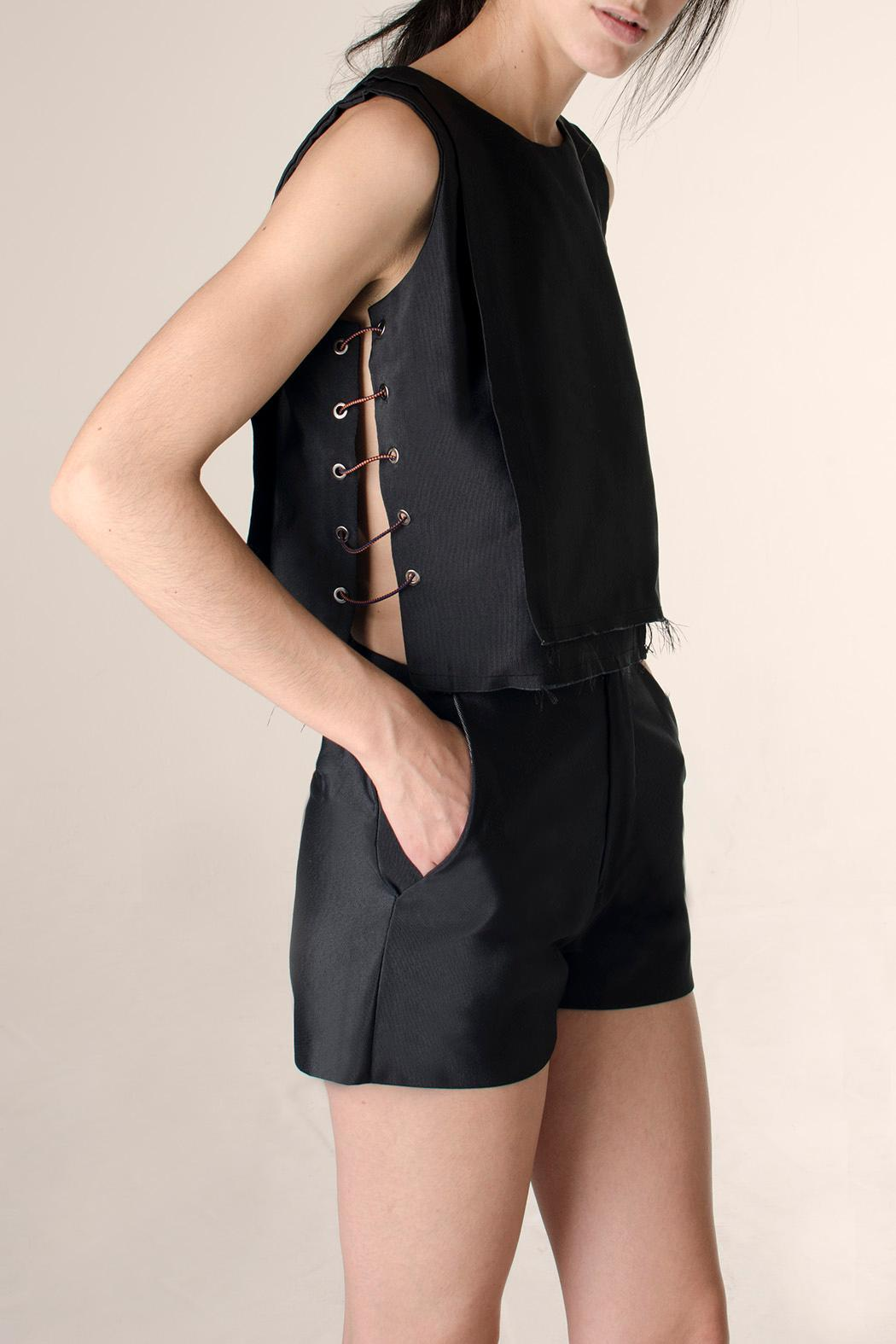 NOD Ronzo Layered Top - Front Cropped Image