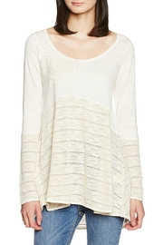 DESIGUAL Noelia Long Sleeve Top - Product Mini Image