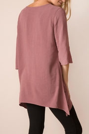 Noelle Split Hem Tunic - Front full body