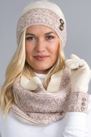 Noelle Swiss Alps Hat - Front cropped