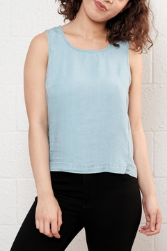 Noisy May Chambray Tank Top - Product List Image