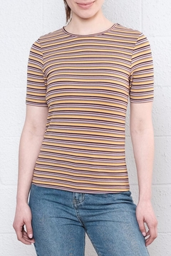 Noisy May Elsa Striped Top - Product List Image
