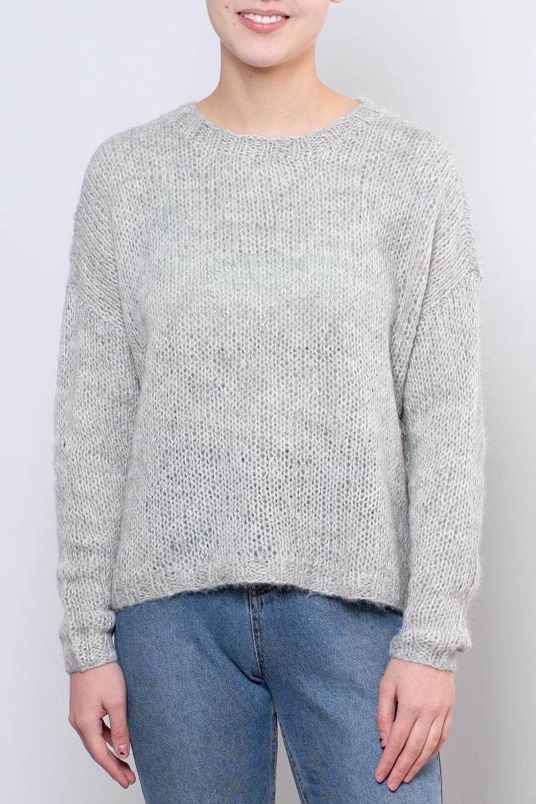 Noisy May Janis Knit Pullover Top - Front Cropped Image