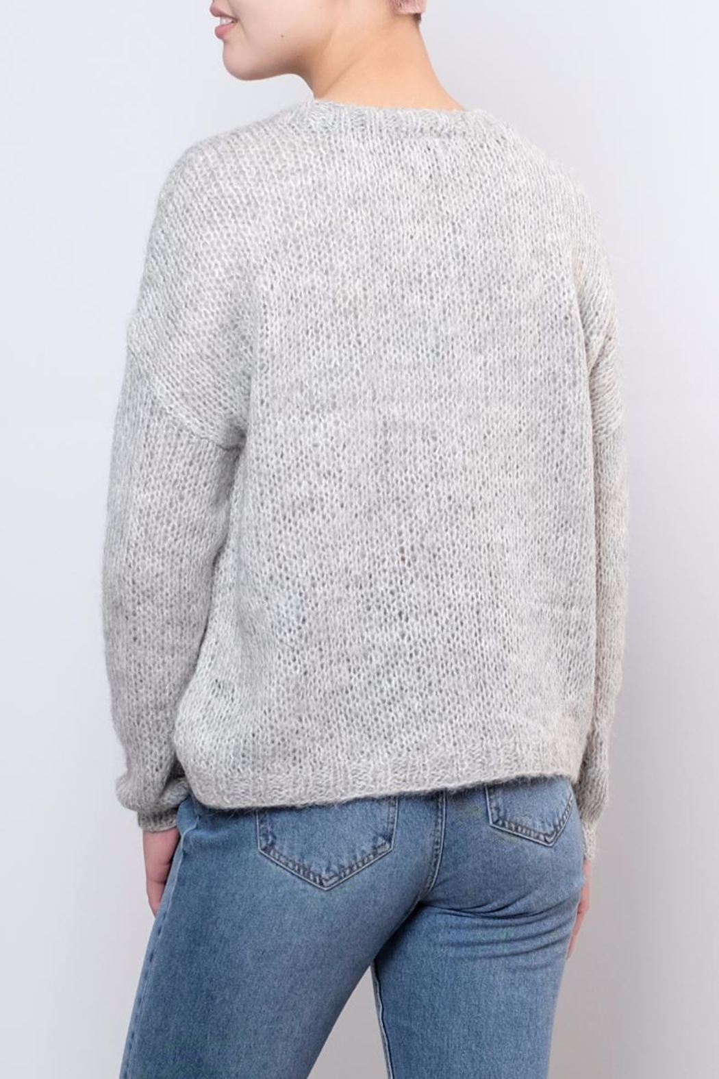 Noisy May Janis Knit Pullover Top - Side Cropped Image