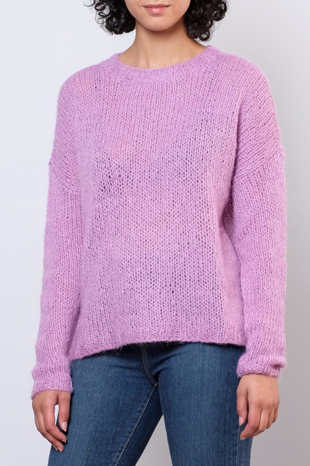 Noisy May Janis Knit Pullover Top - Front Full Image