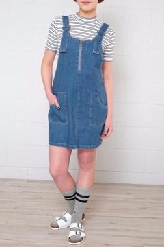 Shoptiques Product: Mini Dungaree Dress