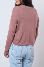 Noisy May O-Neck Cropped Pullover - Side cropped