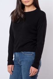 Noisy May O-Neck Cropped Pullover - Front full body