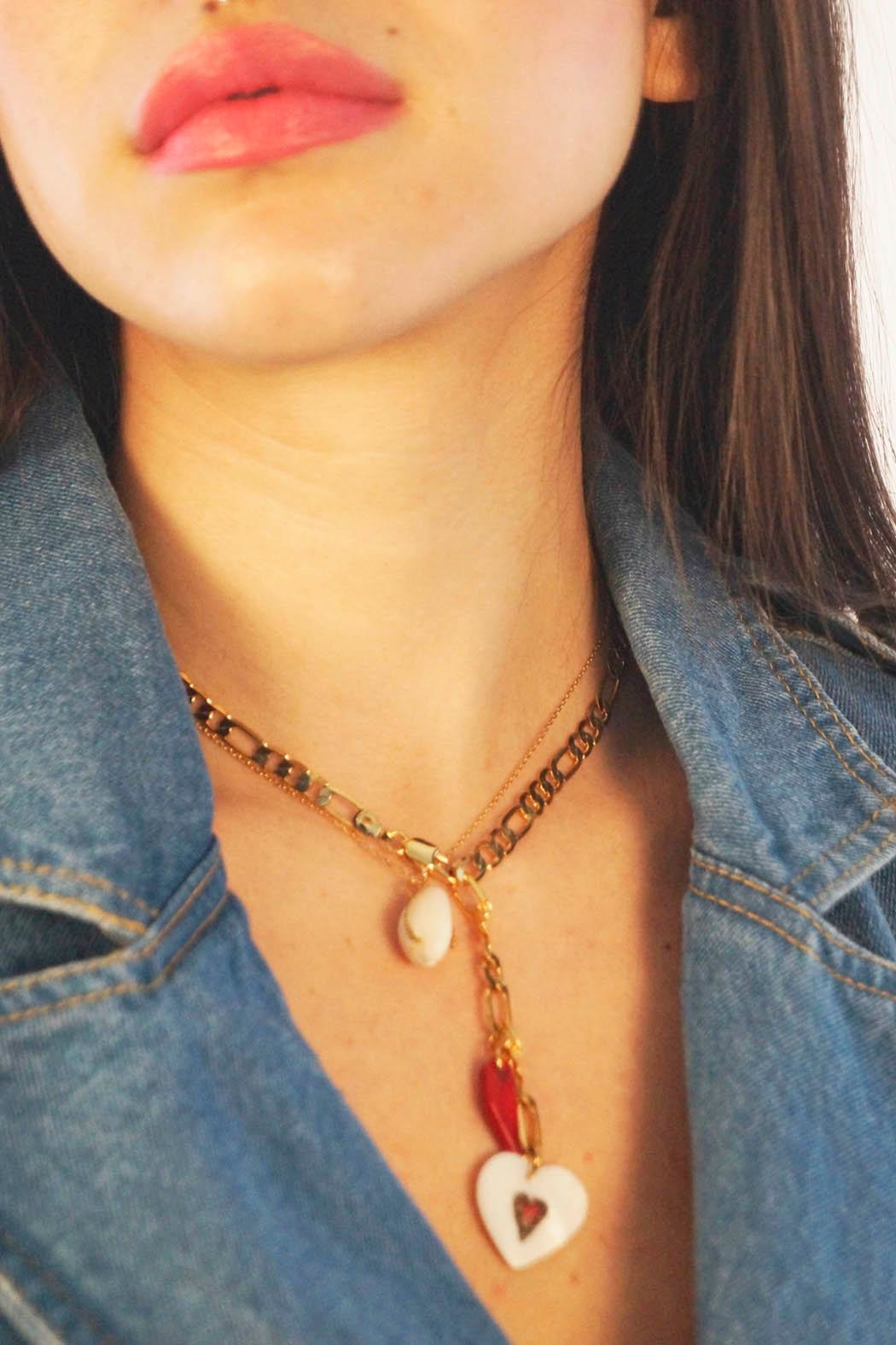 Aioty Nolita Necklace Shell - Back Cropped Image