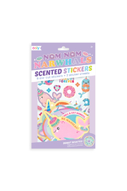 Ooly Nom Nom Narwhals Scented Stickers - Product Mini Image