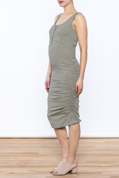 Shoptiques Product: Grey Sleeveless Midi Dress