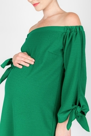 NOM Maternity Chic Maternity Dress - Side cropped
