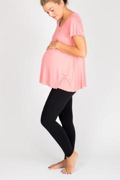 NOM Maternity Mimi Tee Rose - Alternate List Image