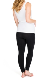 NOM Maternity Seamless Tank - White - Side cropped