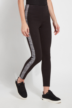 Shoptiques Product: Nomad Denim Legging with print side tape