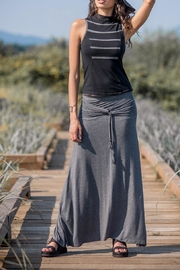 Nomad Hempwear Bamboo Long Skirt - Front cropped