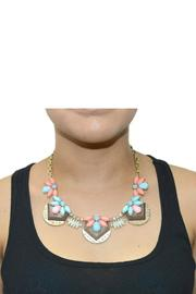 NONE Bzzz Bib Necklace - Side cropped