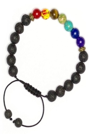 NONE Chakra Diffuser Bracelet - Front cropped