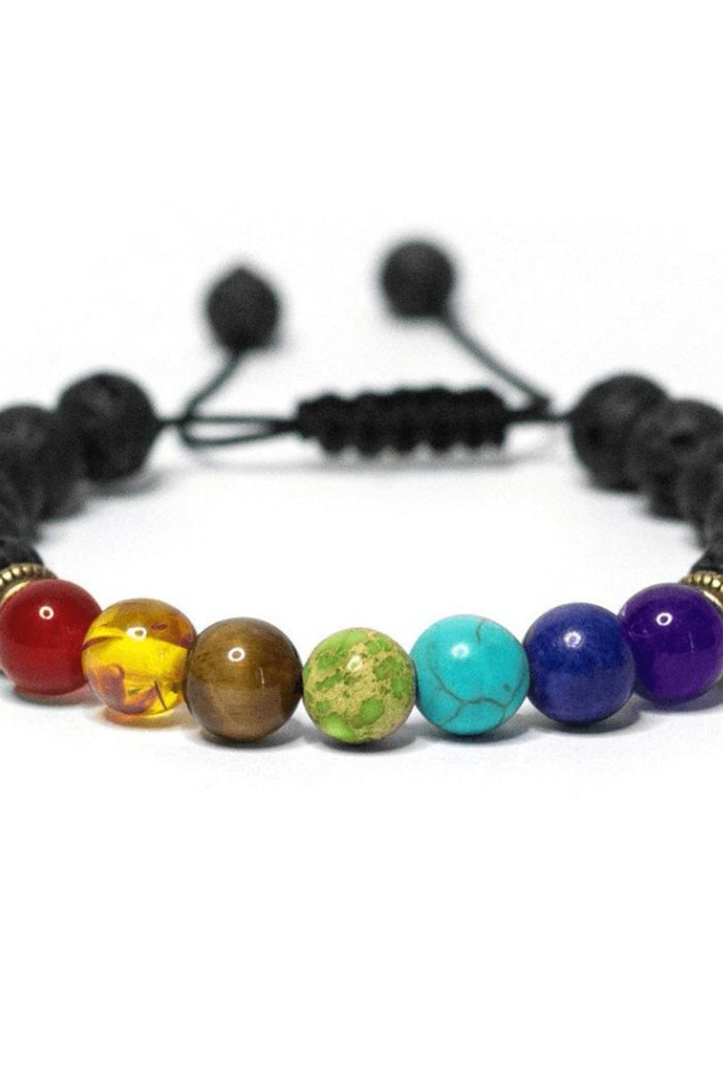 NONE Chakra Diffuser Bracelet - Front Full Image