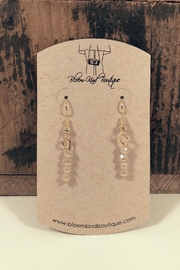 NONE Dangle Beaded Earrings - Product Mini Image