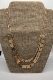 NONE Gold Squares Necklace - Product Mini Image