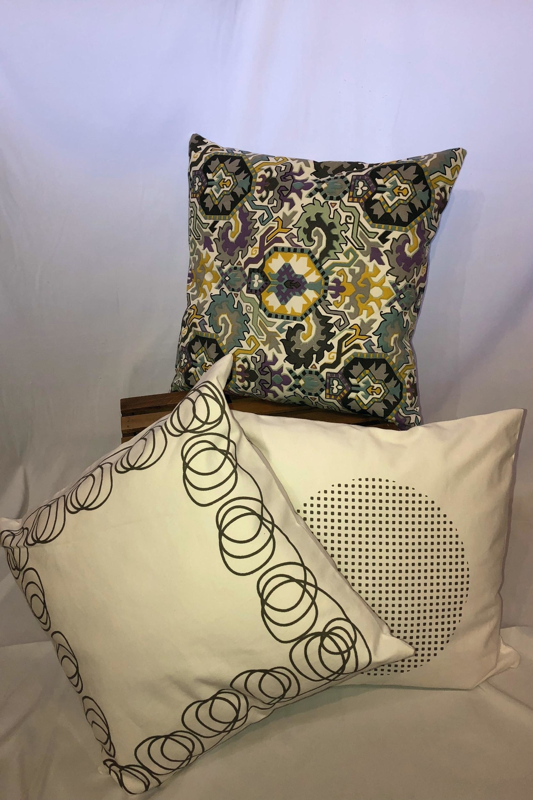 NONE Indoor/outdoor Throw Pillow - Front Full Image