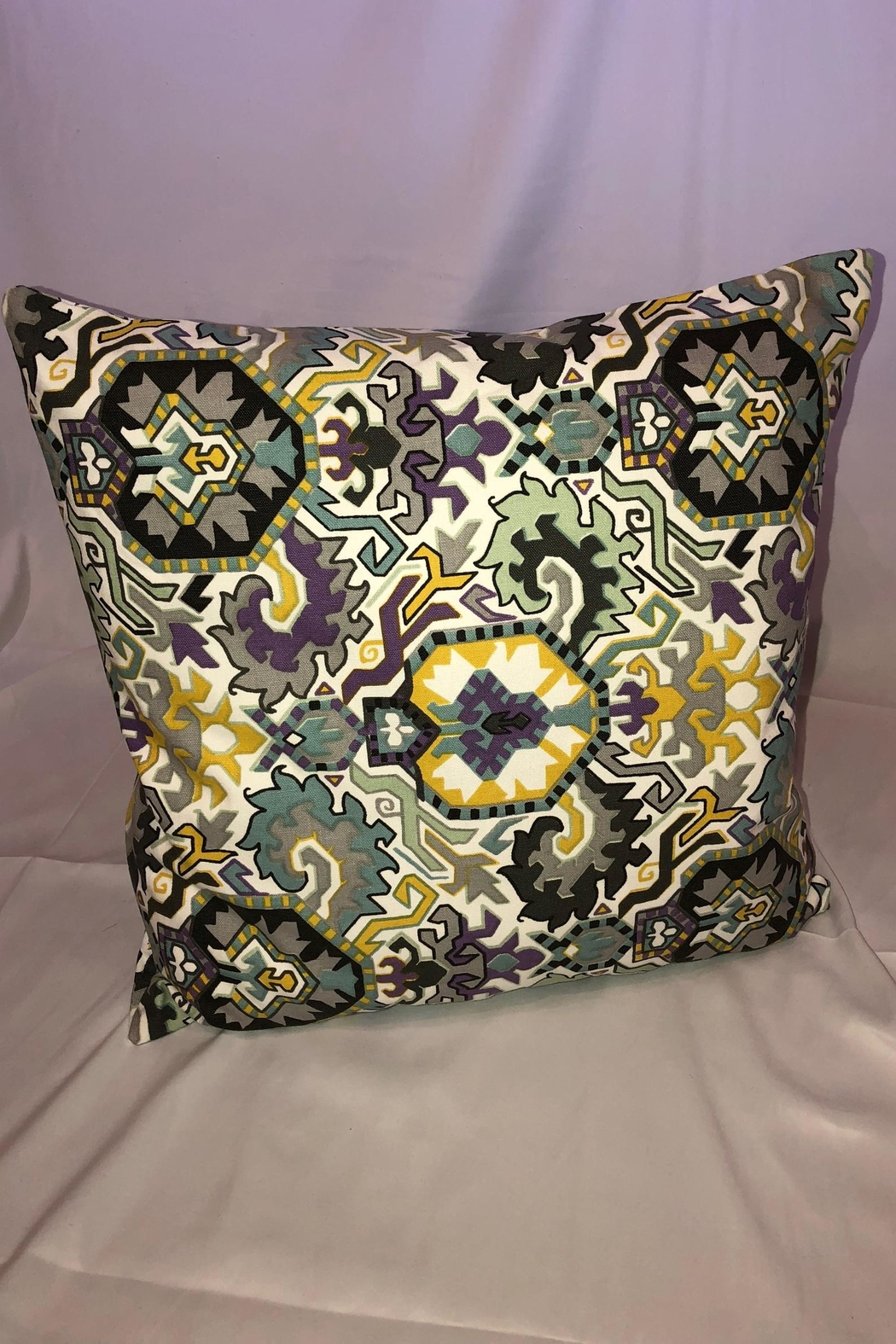 NONE Indoor/outdoor Throw Pillow - Front Cropped Image
