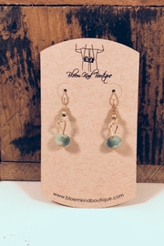 NONE Mint Beaded Earrings - Front cropped