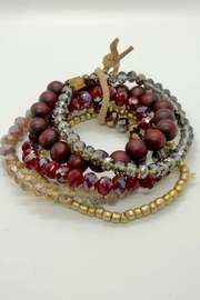 NONE Stacking Bracelet Set - Front cropped