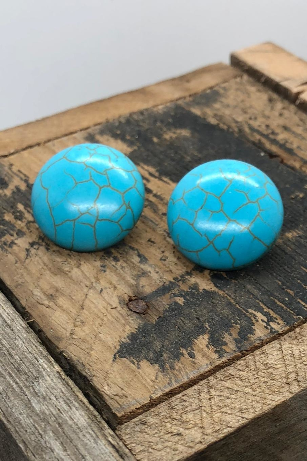 NONE Turquoise Earrings - Main Image