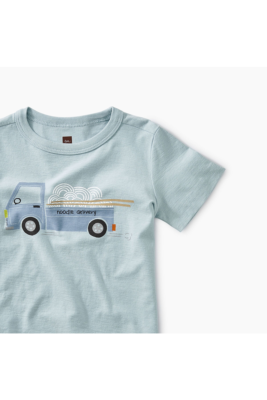 Tea Collection Noodle Truck Baby Graphic Tee - Front Full Image