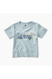 Tea Collection Noodle Truck Baby Graphic Tee - Front cropped