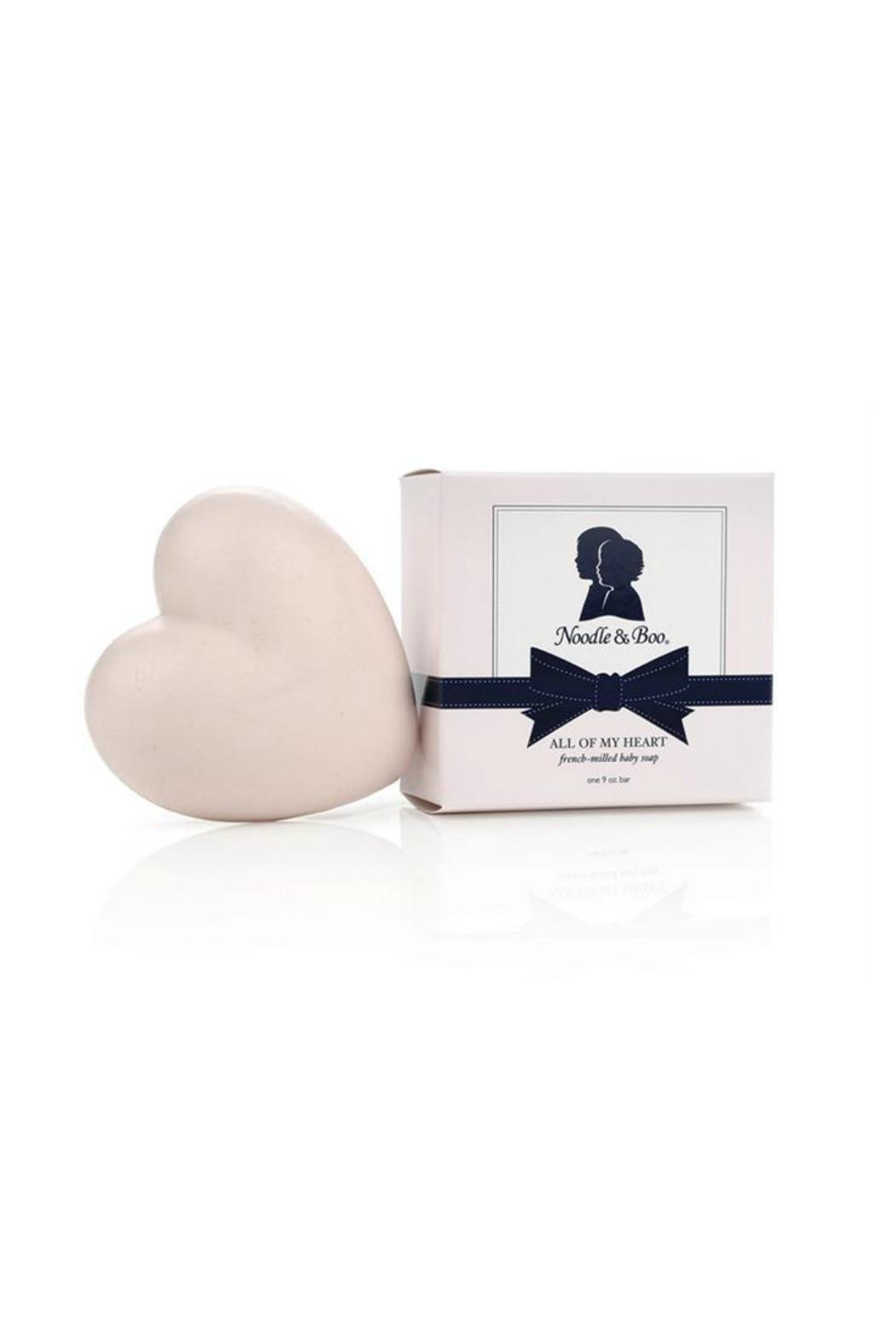 Noodle & Boo Baby Heart Soap - Main Image