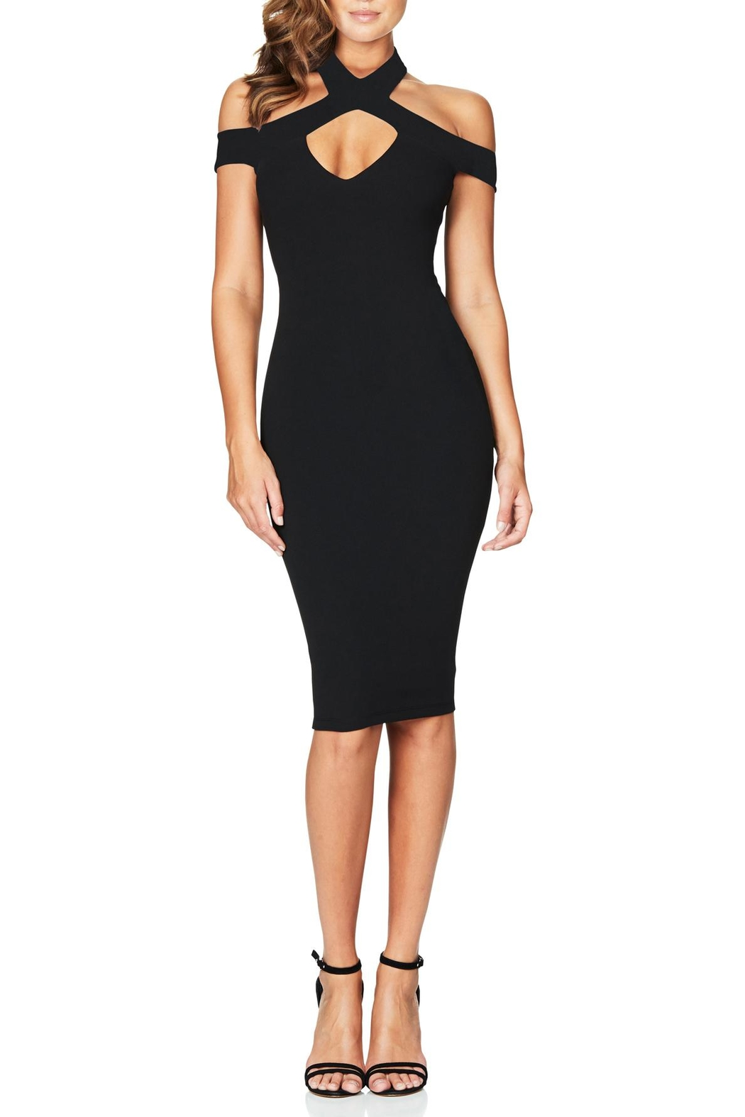 Nookie Hollywood Midi Dress - Main Image