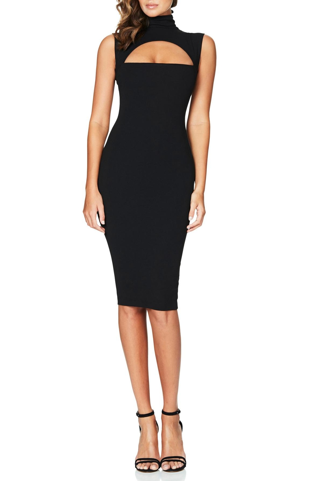 Nookie Manhattan Midi Dress - Front Cropped Image