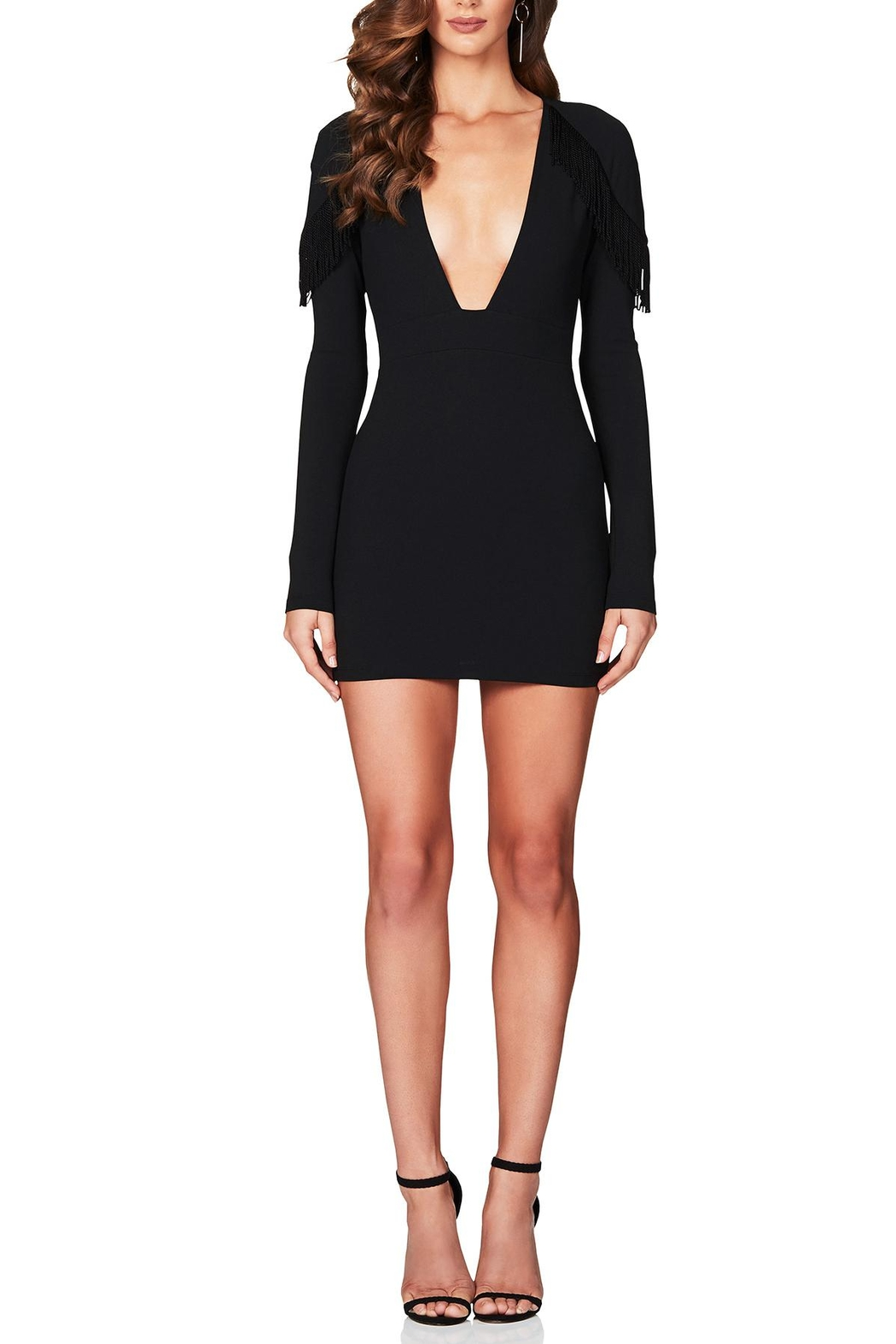 Nookie Mendez Mini Dress - Front Cropped Image