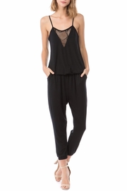 Vava by Joy Hahn Noor Crochet Jumpsuit - Product Mini Image