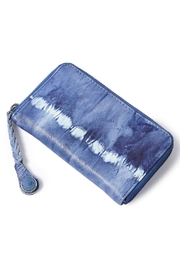 Noosa Amsterdam Tie Dye Leather Wallet - Front cropped