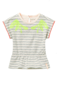 Shoptiques Product: Striped Short Sleeved Top