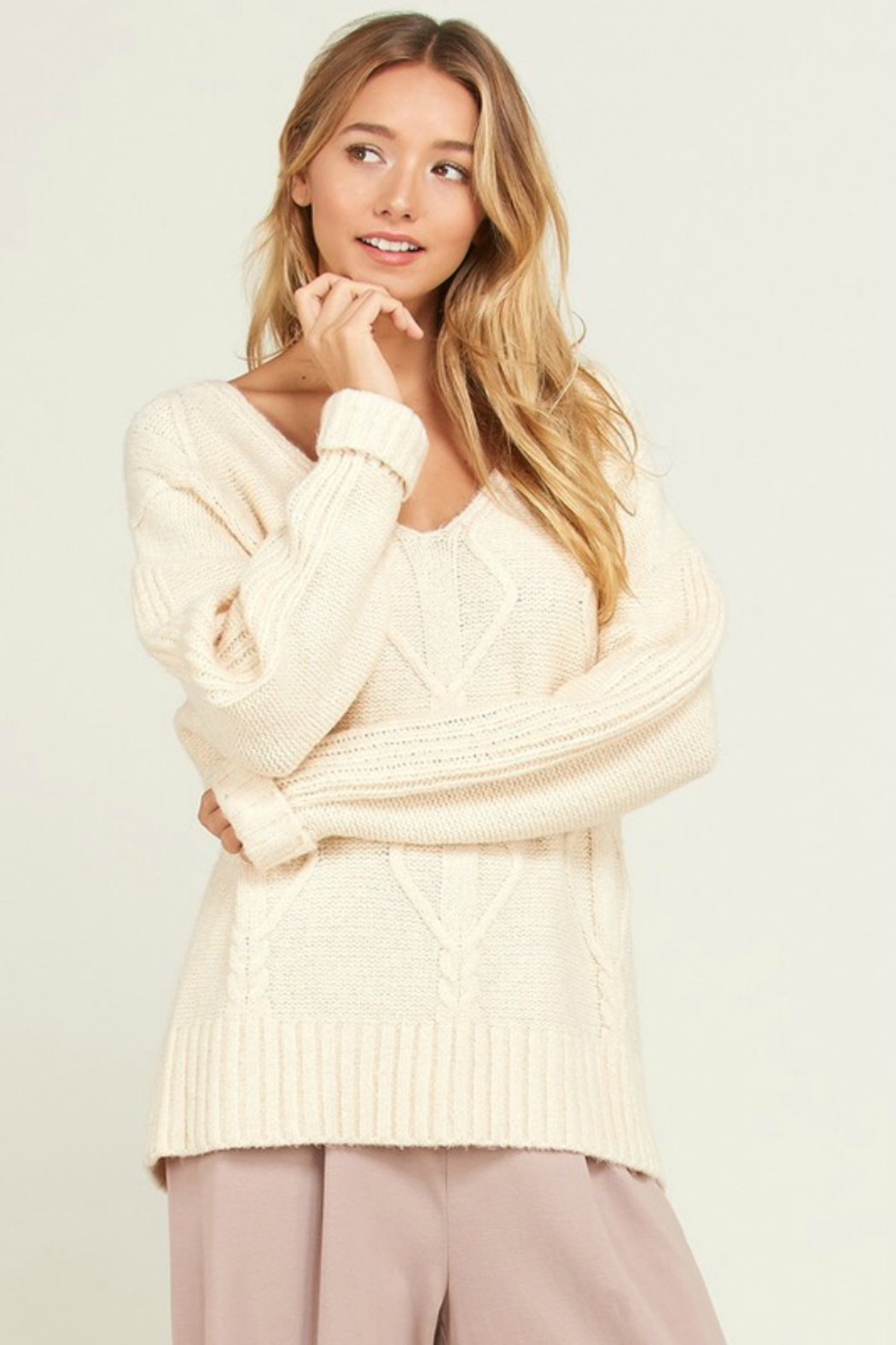 Wishlist NORA SWEATER - Front Cropped Image